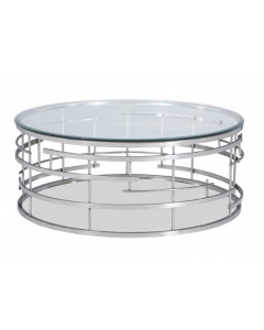 Viena Stainless Steel Coffee Table