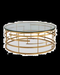 Viena Brass Coffee Table