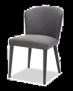 Kay Night Grey Velvet Dining Chair