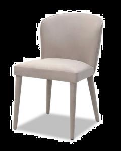 Kay Limestone Velvet Dining Chair