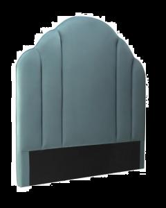 Roseberry Deep Turquoise Velvet Headboard