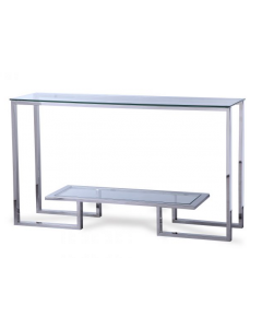 Mayfair Stainless Steel Console Table