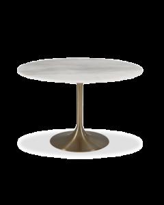 Telma Small Brass Dining Table