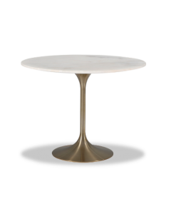 Telma Large Brass Dining Table