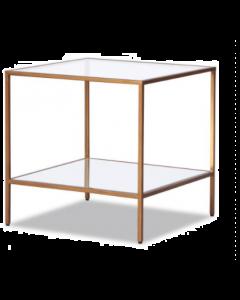 Oliver Antique Gold Side Table (Seconds)