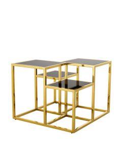 SMYTHSON BRASS SIDE TABLE