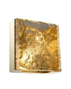 St Kitts Gold Wall Lamp
