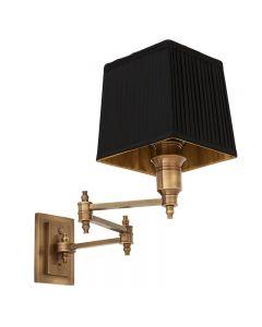 EICHHOLTZ LEXINGTON SWING WALL LAMP BRASS
