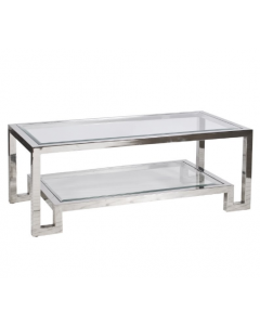 Winston Stainless Steel Coffee Table (Seconds)